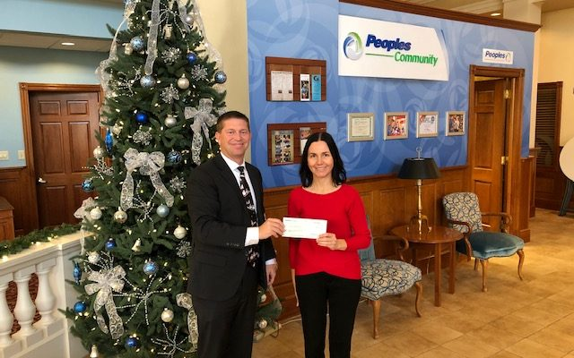 peoples bank foundation donation